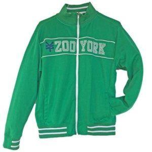 Zoo York Retro Men's Green 90s Track Jacket   M